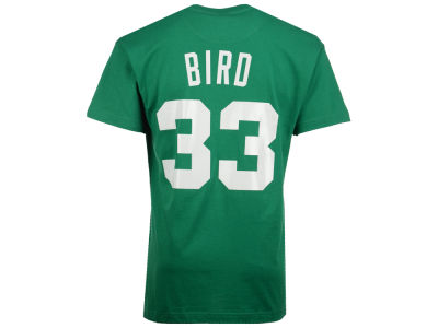 Boston Celtics Larry Bird Mitchell and Ness NBA Men's Hardwood Classic Player T-Shirt