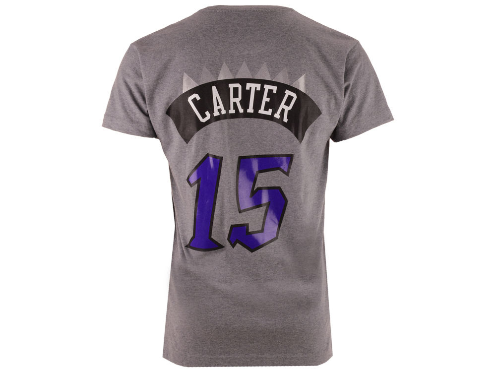 e212ade53 Toronto Raptors Vince Carter Mitchell   Ness NBA Men s Hardwood Classic  Player T-Shirt