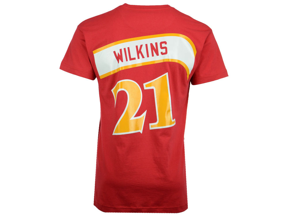 31f2b2c82f5 ... czech atlanta hawks dominique wilkins mitchell ness nba mens hardwood  classic player t shirt lids 27f5b