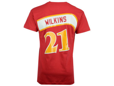 Atlanta Hawks Dominique Wilkins Mitchell and Ness NBA Men's Hardwood Classic Player T-Shirt