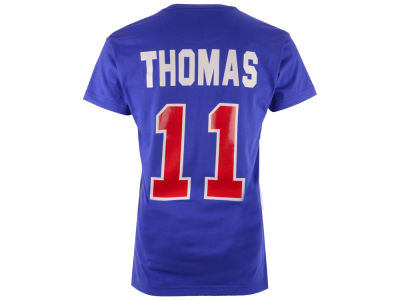Detroit Pistons Isiah Thomas Mitchell and Ness NBA Men's Hardwood Classic Player T-Shirt