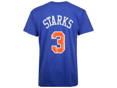 New York Knicks John Starks Mitchell and Ness NBA Men's Hardwood Classic Player T-Shirt