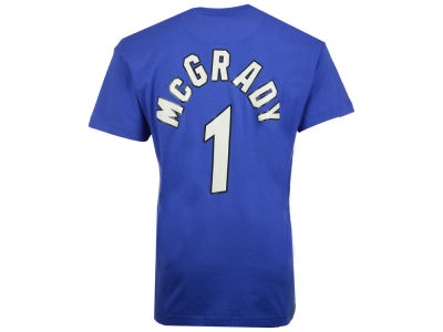 Orlando Magic Tracy McGrady Mitchell and Ness NBA Men's Hardwood Classic Player T-Shirt