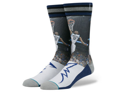 Minnesota Timberwolves Andrew Wiggins Stance NBA Future Legends Crew Socks