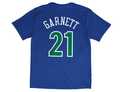 Minnesota Timberwolves Kevin Garnett Mitchell and Ness NBA Men's Hardwood Classic Player T-Shirt