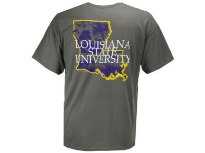LSU Tigers LIDS NCAA Men's State Sportsman T-Shirt