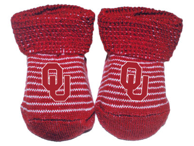 Oklahoma Sooners Atlanta Hosiery NCAA Stripe Gift Box Booties