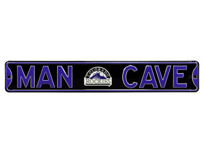 Colorado Rockies Street Fighter Authentic Street Sign Man Cave