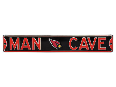 Arizona Cardinals Street Fighter Authentic Street Sign Man Cave