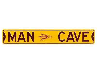 Arizona State Sun Devils Street Fighter Authentic Street Sign Man Cave