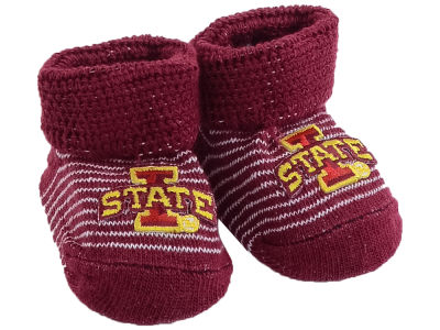 Iowa State Cyclones NCAA Stripe Gift Box Booties