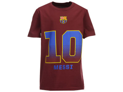 FC Barcelona Lionel Messi MLS Club Team Youth Player T-Shirt