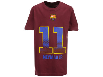 FC Barcelona Neymar  Outerstuff MLS Club Team Youth Player T-Shirt