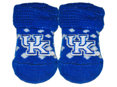 Kentucky Wildcats Atlanta Hosiery NCAA Polka Dot Gift Box Booties