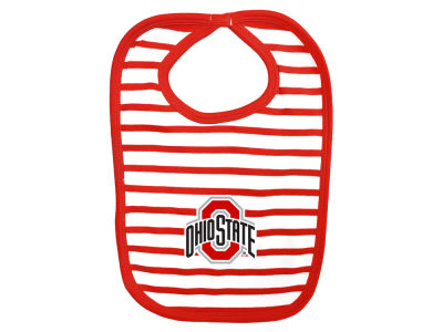 Ohio State Buckeyes NCAA Stripe Knit Bib