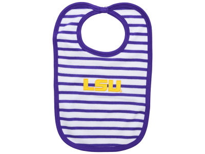 LSU Tigers Atlanta Hosiery NCAA Stripe Knit Bib