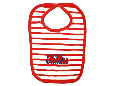 Ole Miss Rebels NCAA Stripe Knit Bib