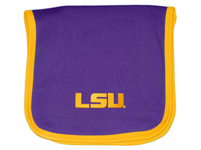 LSU Tigers Atlanta Hosiery NCAA Knit Burp Cloth