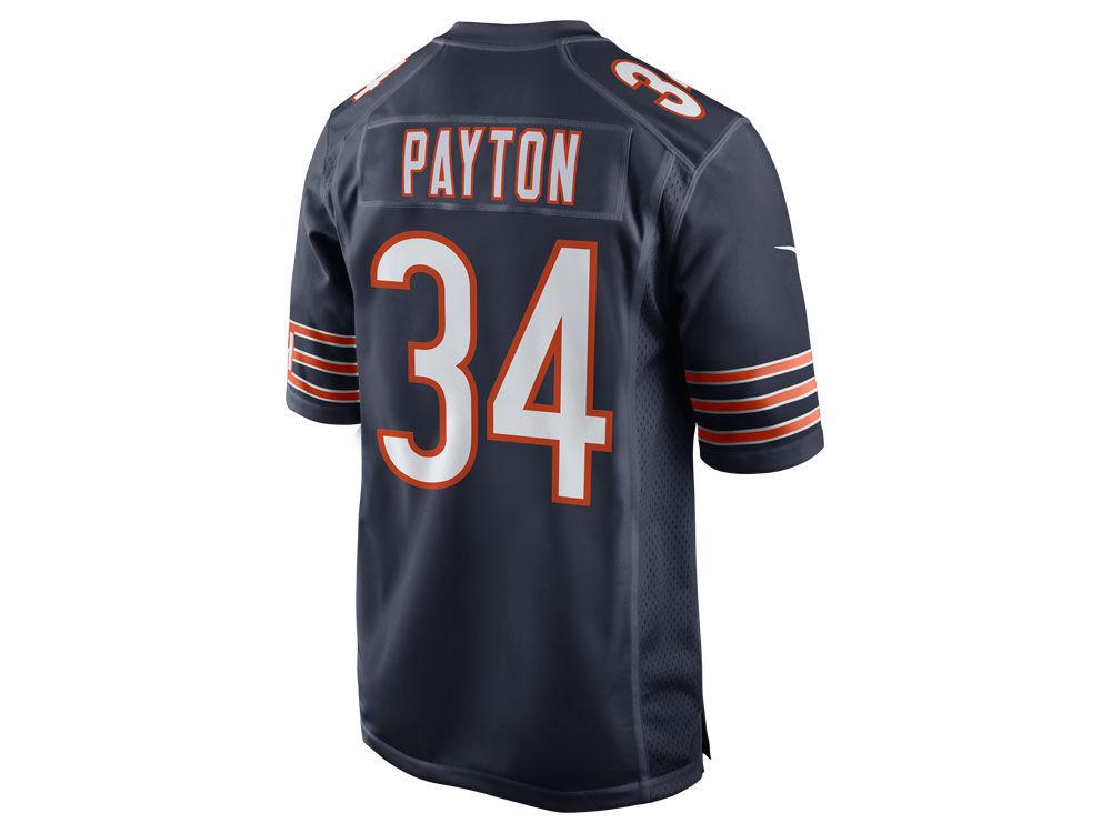 561031bb9 Chicago Bears Walter Payton Nike NFL Retired Game Jersey