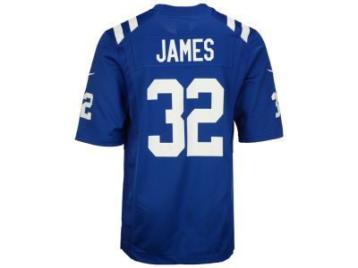 Indianapolis Colts Edgerrin James Nike NFL Retired Game Jersey