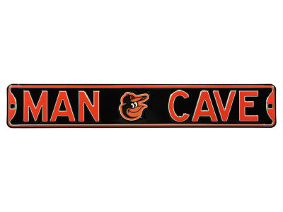 Baltimore Orioles Street Fighter Authentic Street Sign Man Cave