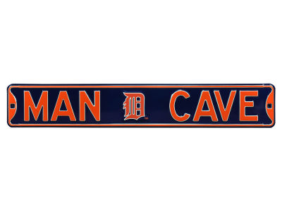 Detroit Tigers Street Fighter Authentic Street Sign Man Cave