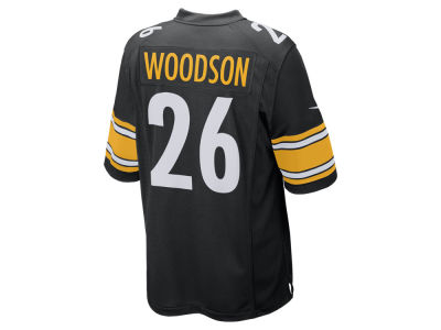 Pittsburgh Steelers Rod Woodson Nike NFL Retired Game Jersey