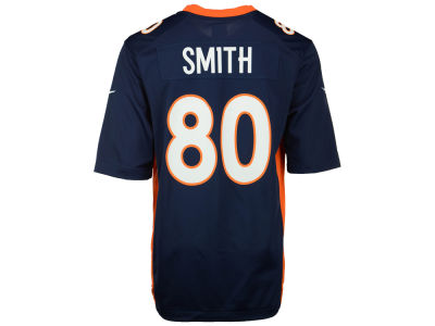 Denver Broncos Rod Smith Nike NFL Retired Game Jersey
