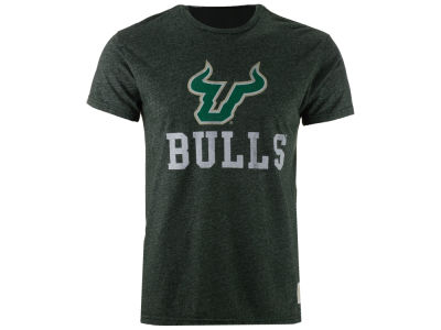 South Florida Bulls Retro Brand NCAA Men's Mock Twist Team Logo T-Shirt