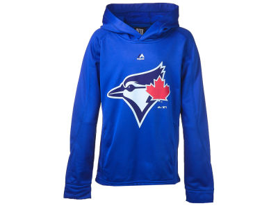 Toronto Blue Jays Majestic MLB Youth Logo Streak Hoodie