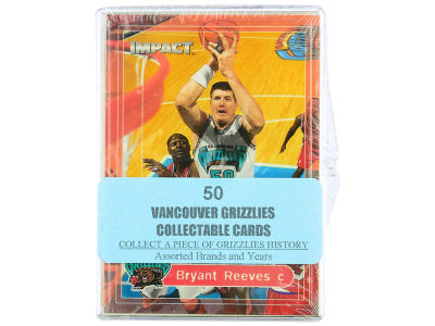 Vancouver Grizzlies 50 Card Pack-Assorted