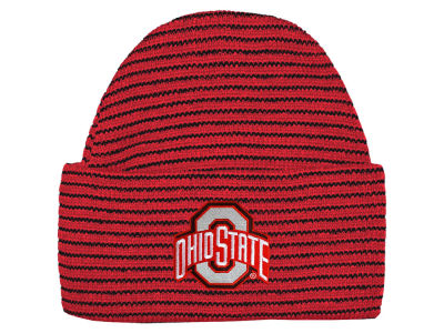 Ohio State Buckeyes NCAA Newborn Stripe Knit Cap