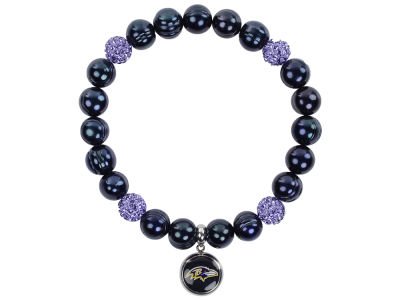 Baltimore Ravens Honora Bracelet with Sparkle Bead