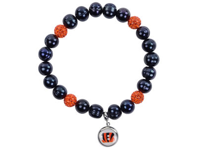 Cincinnati Bengals Honora Bracelet with Sparkle Bead