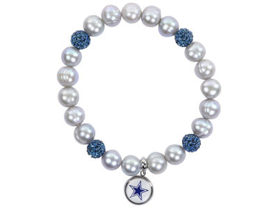 Dallas Cowboys Honora Bracelet with Sparkle Beads and Charm