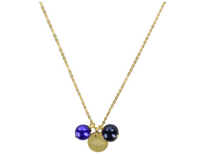 Baltimore Ravens Honora Necklace with Pearl Beads