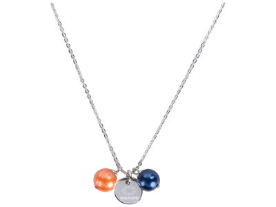 Chicago Bears Honora Necklace with Pearl Beads and Charm