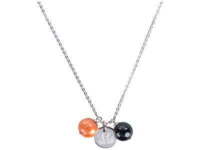 Cincinnati Bengals Honora Necklace with Pearl Beads