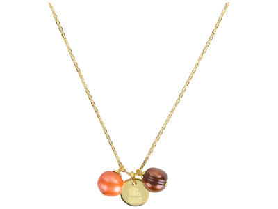 Cleveland Browns Honora Necklace with Pearl Beads