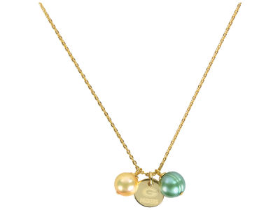 Green Bay Packers Honora Necklace with Pearl Beads