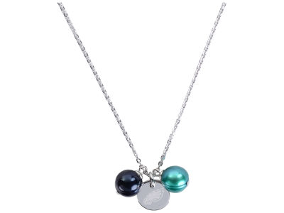Philadelphia Eagles Honora Necklace with Pearl Beads and Charm
