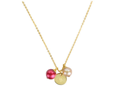 San Francisco 49ers Honora Necklace with Pearl Beads