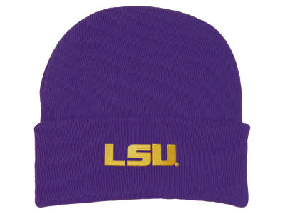 LSU Tigers Atlanta Hosiery NCAA Newborn Knit Cap