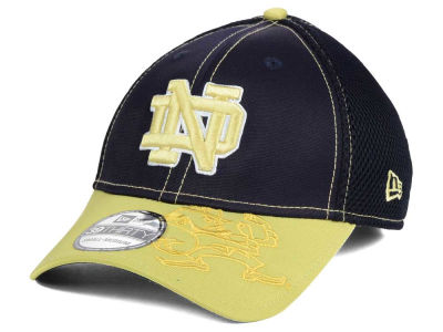 Notre Dame Fighting Irish New Era NCAA Heathered Neo 39THIRTY Cap