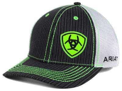 Ariat Pinstripe Shield Trucker Cap