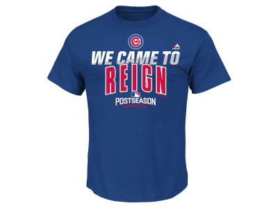 Chicago Cubs MLB Men's Postseason Participant T-Shirt