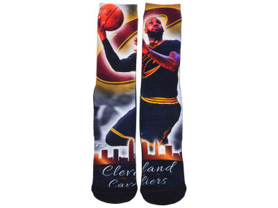 Cleveland Cavaliers LeBron James NBA Youth City Star Crew Socks
