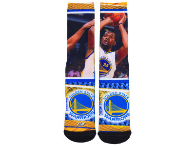 Golden State Warriors Kevin Durant NBA Youth Hard Play 2 Crew Sock