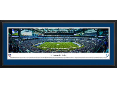 Indianapolis Colts Panoramic Deluxe Framed