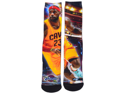 Cleveland Cavaliers LeBron James NBA Youth Starting Line Up Crew Socks